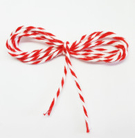 Bakers Twine - Red and White