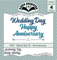 Word set 12-Anniversary