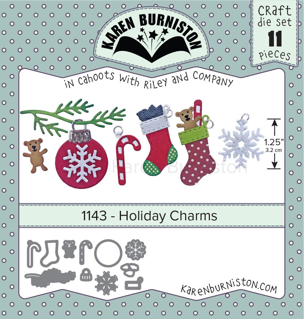 Holiday Charms - KB Riley LLC