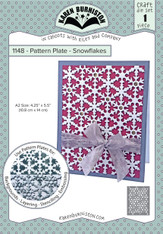 Pattern Plate - Snowflakes