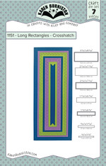 Long Rectangles - Crosshatch