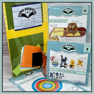 SOLD OUT Just Chicken In Pop-Up Card Kit - Paper and Die Bundle