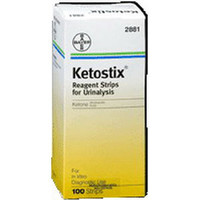 AMES Ketostix Reagent Test Strip (100 count)  562881-Box