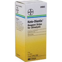 Keto-Diastix Reagent Test Strip (50 count)  562883-Box
