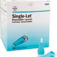 Disposable Lancet 23G (200 count)  566568-Box