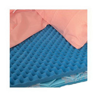 """Convoluted Eggcrate Full Bed Pad, 50"""" X 72"""" X 2""""  647948-Each"""