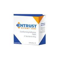 """Entrust Ostomy Skin Barrier Ring 4""""  656000-Box"""