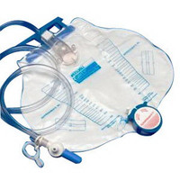 Curity Dover Economy Anti-Reflux Drainage Bag 2,000 mL  686300-Each