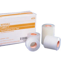 "Curity Hypoallergenic Clear Tape 1"" x 10 yds.  688534-Each"