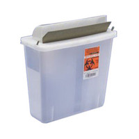 In-Room Sharps Container with Mailbox-Style Lid 5 Quart  6885131-Each