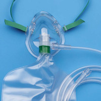 Adult Vinyl Oxygen Mask 7'  55001205-Case