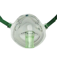 AirLife Aerosol Adult Mask with Elastic Band  55001206-Each