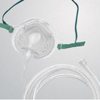 Airlife Pediatric Oxygen Mask with 7' Tubing  55001260-Each