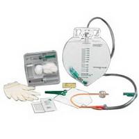 BARDEX 100% Silicone Drain Bag Foley Catheter Tray 18 Fr 5 cc  57897218-Each
