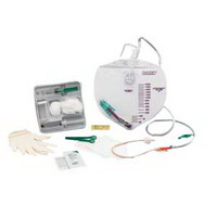 BARDEX I.C. Drainage Bag Foley Catheter Tray 16 Fr 5 cc  57920016A-Case