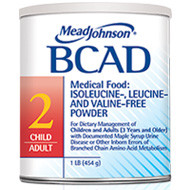 Bcad 2 Powder, Non-GMO Formulation, Vanilla Scent  75891501-Each