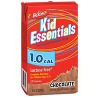 Boost Kid Essentials 1.0 Nutrition Chocolate Flavor 8 oz. Brik Pak  85335200-Case