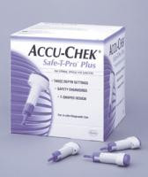ACCU-CHEK Safe-T-Pro Plus Lancet (200 count)  5903448622001-Box