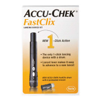 ACCU-CHEK FastClix Lancing Device Kit  5905864666160-Each