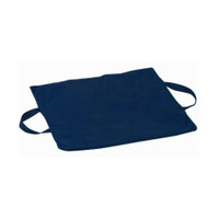 "Duro-Gel Flotation Cushion, 16"" x 18"" x 2"", Polyester Cotton, Navy  6451376342400-Each"