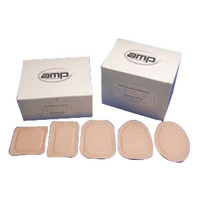 """Ampatch Style N-3 with 3/4"""" x 1 1/4"""" Rectangular Center Hole  49N3-Box"""