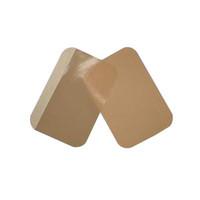 Ampatch Style U-2 Precut Tan Tape No Absorbency No Hole  49U2-Box