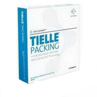 "TIELLE Packing Hydropolymer Dressing 3-5/8"" x 3-5/8""  53MT2450-Case"