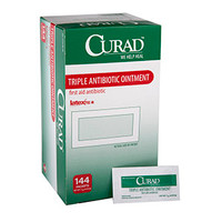 CURAD Triple Antibiotic Ointment, 0.9 g Packet  60CUR001209-Box