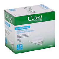 "Curad Non-Stick Pad, 2"" x 3""  60CUR47395RB-Box"