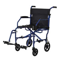 Ultralight Transport Chair, Blue  60MDS808200F3B-Each