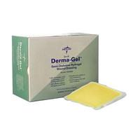 "DermaGel Hydrogel Sheet Dressing 4"" x 4""  60NON8000-Each"