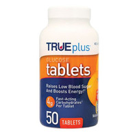 TRUEplus Glucose Tablets 50 count, Orange  67P1H01RN50-Case