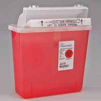 SharpStar In-Room Sharps Container Counter Balanced Lid 5 Quart  688507SA-Each