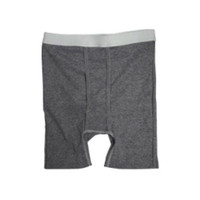 OPTIONS Men's Boxer Brief with Built-In Barrier/Support, Gray, Right-Side Stoma, XXX-Large  8094006XXXLR-Each
