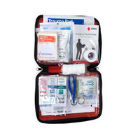 Be Red Cross Ready First Aid Kit Red  ACE9165RC-Each
