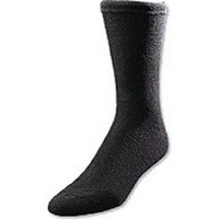 European Comfort Diabetic Sock X-Large, Black  ATSOXELB-Each