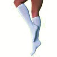 SensiFoot Crew Length Mild Compression Diabetic Sock Small, White  BI110836-Each