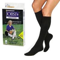 SensiFoot Knee-High Mild Compression Diabetic Sock Large, Black  BI110868-Each