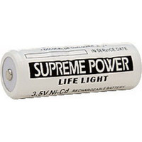 3.5V Nickel-Cad Rechargeable Battery, Black  CBLL72200-Each
