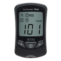 Glucocard Vital Blood Glucose Meter, Black