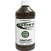 Dakin's Solution Quarter Strength 125% 16 oz. Bottle