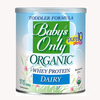 Baby's Only Organic Dairy With Whey Protein, 12.7 oz.