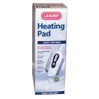 "Leader King Size LCD Electric Digital Moist/Dry Heating Pad, 12"" x 14"""