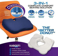 "Kabooti Comfort Ring with Blue Cover, 171/2"" x 131/2"" x 31/4"""