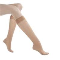 Health Support Vascular Hosiery 2030 mmHg, Knee Length, Sheer, Beige, Size F
