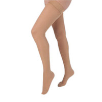 Health Support Vascular Hosiery 2030 mmHg, Full Length Thigh, Closed Toe, Sheer, Beige, Regular Size A
