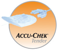 "AccuChek Tender I 24"" 17 mm Infusion Set"