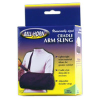 BellHorn Cradle Arm Sling, Youth Universal, Blue