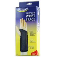 "BellHorn Left Composite Wrist Brace, Small 51/2""  61/2"" Wrist Circumference, Black"