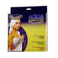 "BellHorn Aqua Armor Cast & Bandage Protector, 28"", Transparent/Blue (Long Arm)"